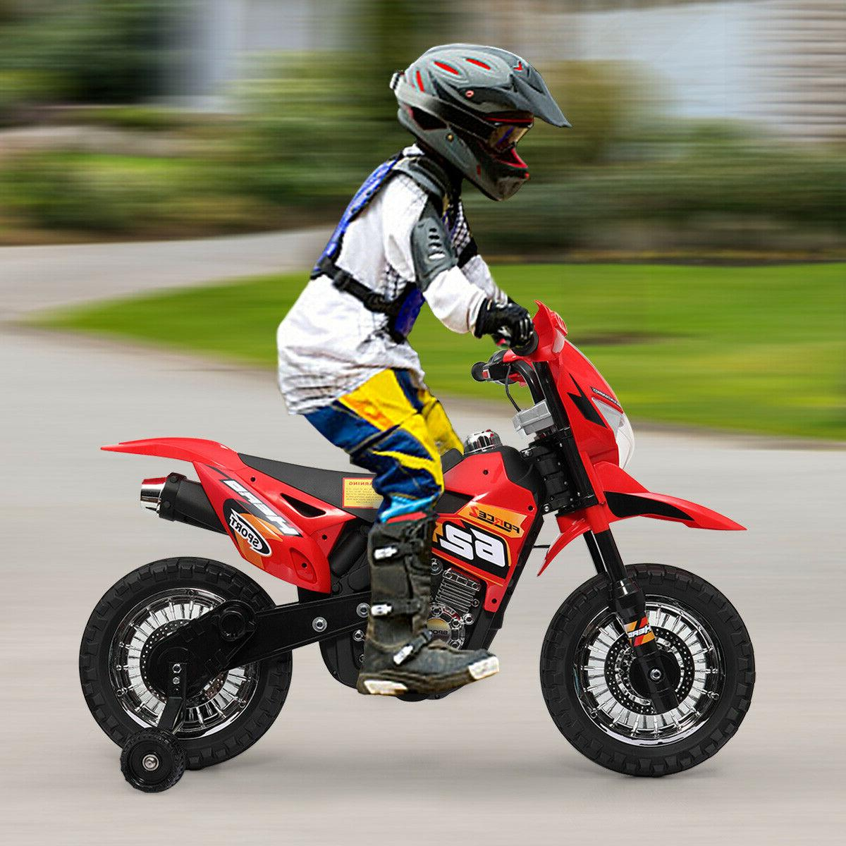 6v kids ride on motorcycle battery powered