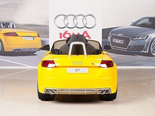 BIG On Powered Wheels Car - Yellow