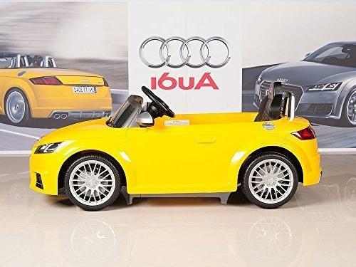 BIG Audi TTs On Battery Car Remote - Yellow