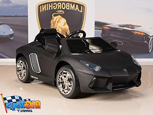 BIG TOYS Aventador 12V On Battery Car Remote,