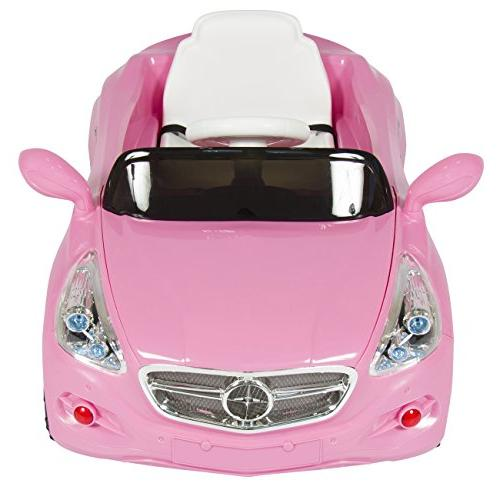Best Choice Kids 12V Power Wheels RC Car Ride with Radio MP3, Pink