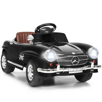 Giantex Black Mercedes Benz 300sl AMG Rc Electric Toy Kids B
