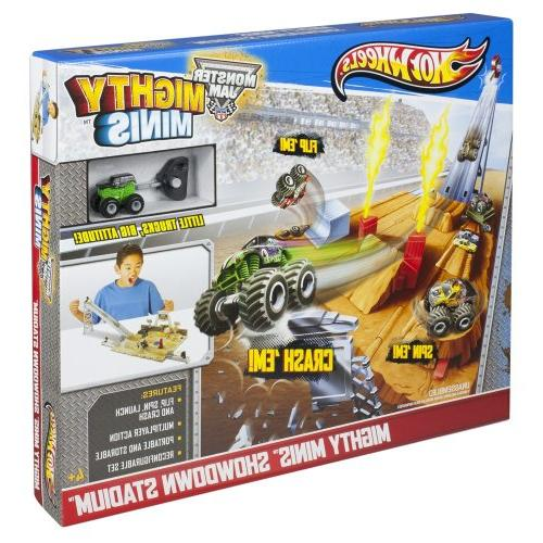 Hot Wheels Monster Jam Mini Monster Showdown Stadium