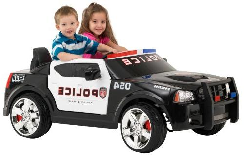 Kid Trax Charger Police Car 12V Battery-Powered Ride-On Toy