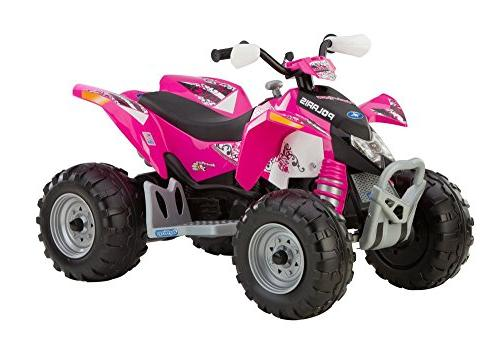 Peg Perego Polaris Outlaw Ride-on Vehicle - Pink