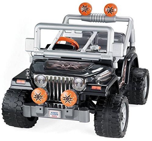 Power Talking Jeep Wrangler