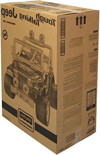 Power Wheels Fisher-Price Tough Talking Jeep Wrangler
