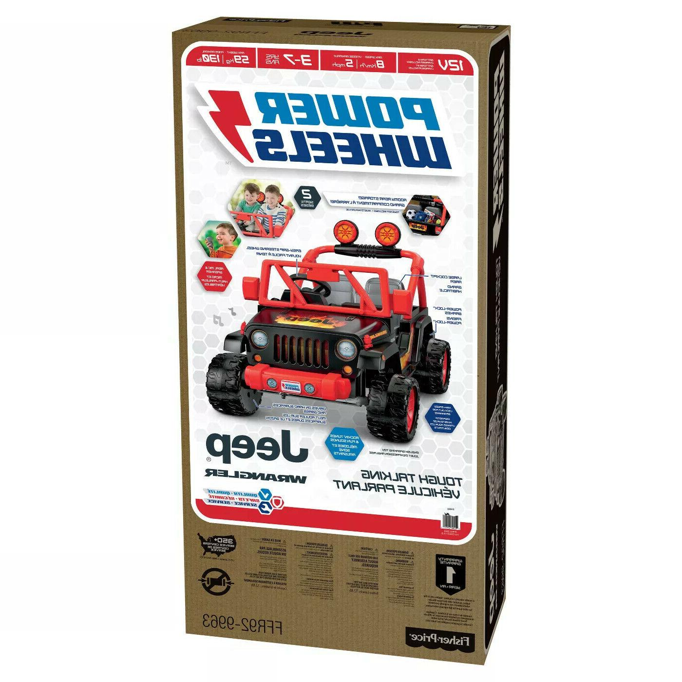 Power Wheels Fisher-Price Tough Talking Jeep Wrangler