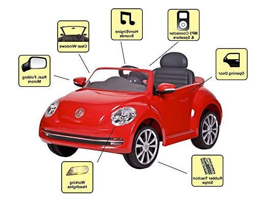 Rollplay Beetle On Battery-Powered Kid's Car