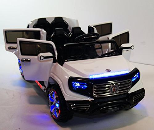 Stunning Seater Truck 12v Battery Operated Ride with Led Music, Lights, MP3 and Remote