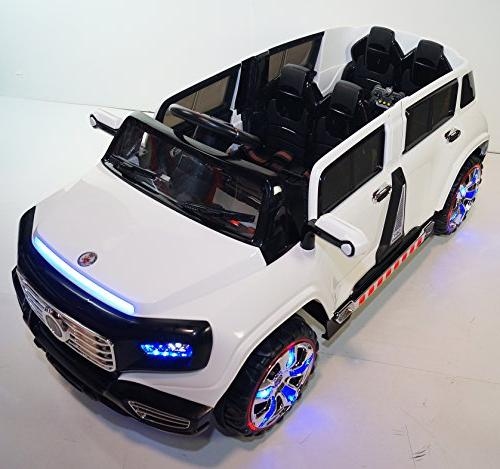 Stunning Truck Operated Ride with Led Wheels Lights, MP3 Remote