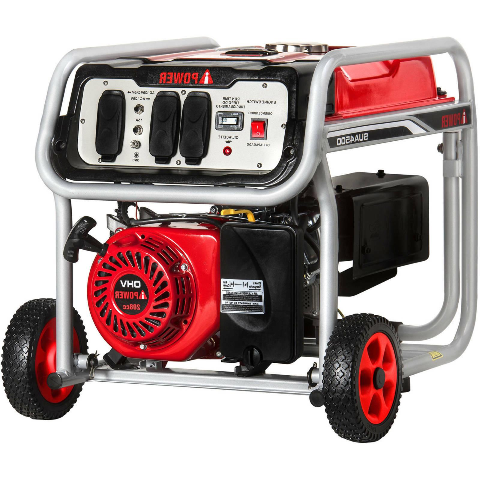 A-iPower 4500W Powered Generator