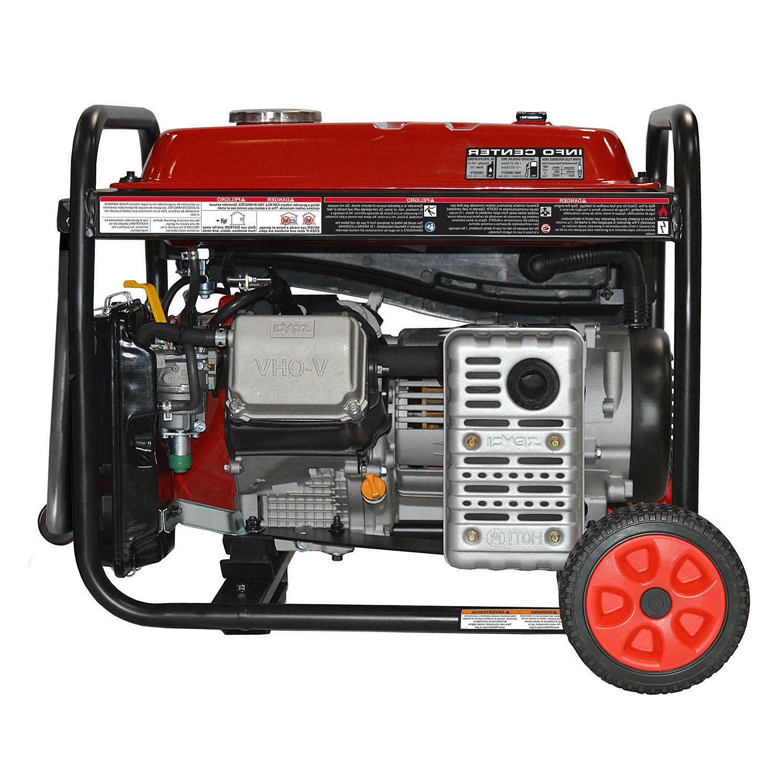 A-iPower Portable Generator with Wheel Kit