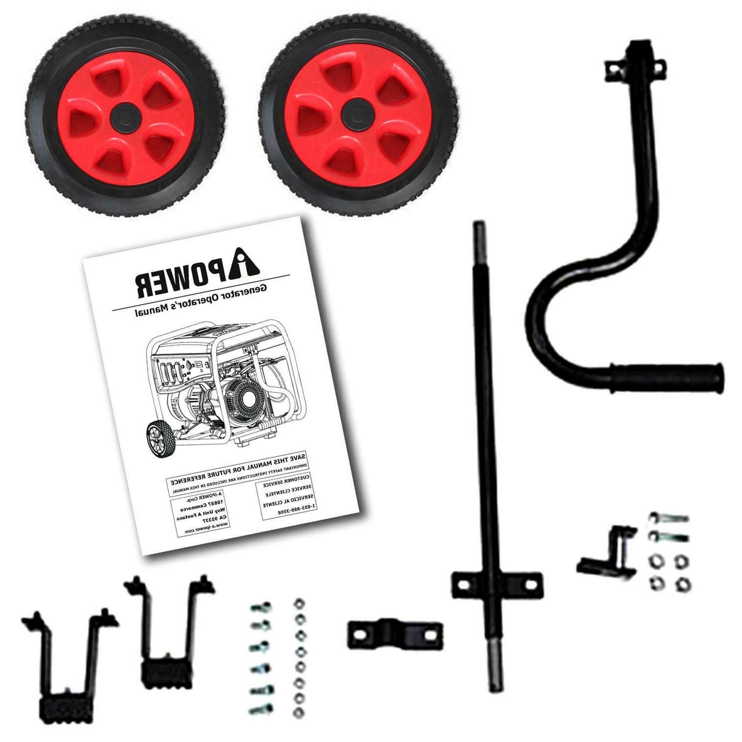 A-iPower 6000/7000 Portable Wheel Kit Free