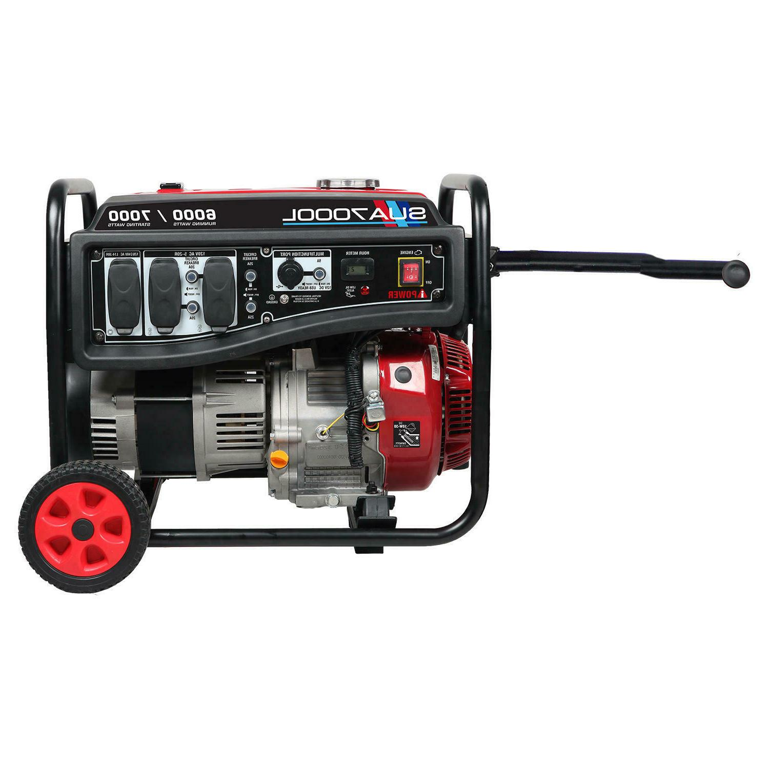 A-iPower 6000/7000 Watt Portable Generator Kit