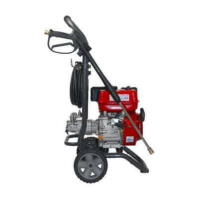 A-iPower Gas Pressure Washer 2,700 2.3 Compact Frame Recoil Start Wheels