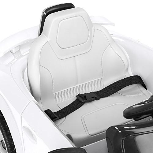 Best Choice Kids Licensed RS Ride-On Parent Control, Suspension, White