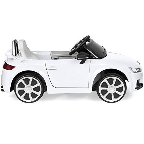 Best Kids Audi RS Parent Control, Suspension, White