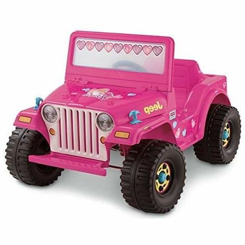 Power Wheels Barbie Wrangler