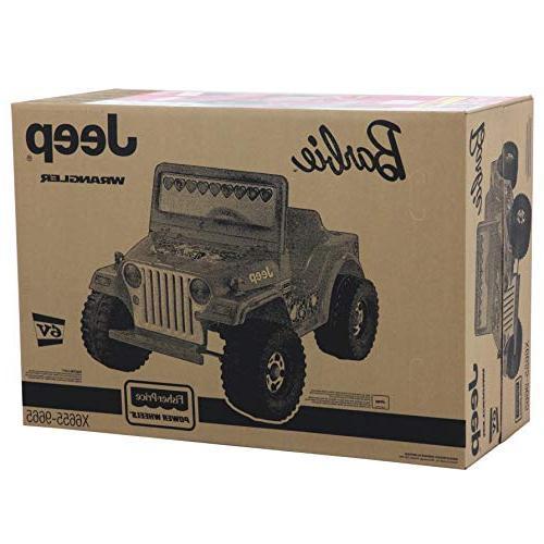 Power Barbie Jeep Wrangler