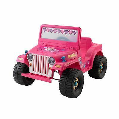 barbie jeep wrangler ride power
