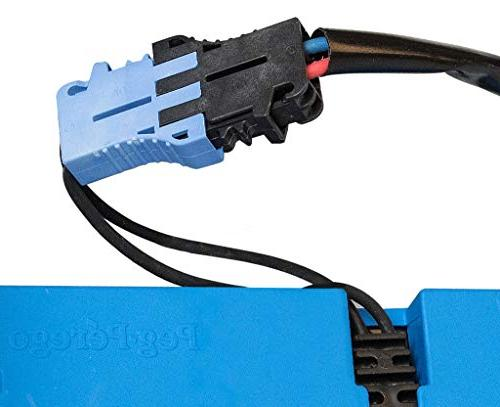12 for Perego, 12V Charger Works with Peg-Perego John Deere Ground Force Tractor Polaris 900 John Deere Gaucho Replacement Power