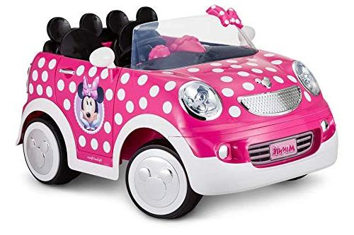 Kaylison Volt Battery Charger Mini Mickey Mouse Coupe, 12V Compatible Child On Grid