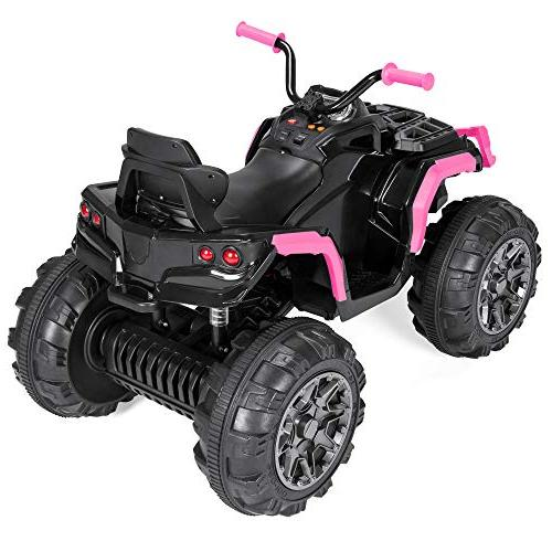 Best Kids Ride-On 3.7mph Max, AUX Pink