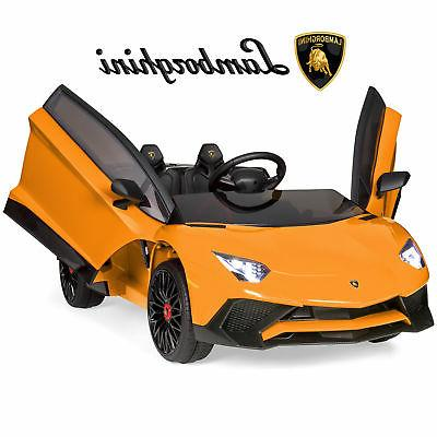 bcp 12v kids ride on lamborghini aventador