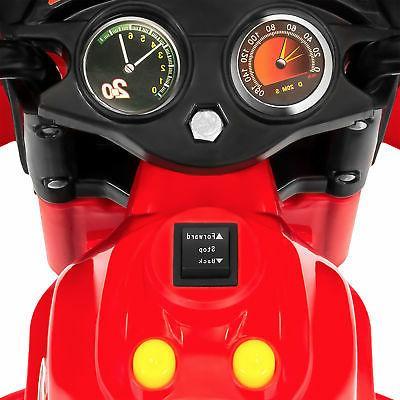 BCP 6V Kids 3-Wheel LED