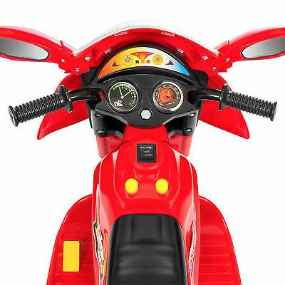 BCP 6V Kids Motorcycle Ride-On LED