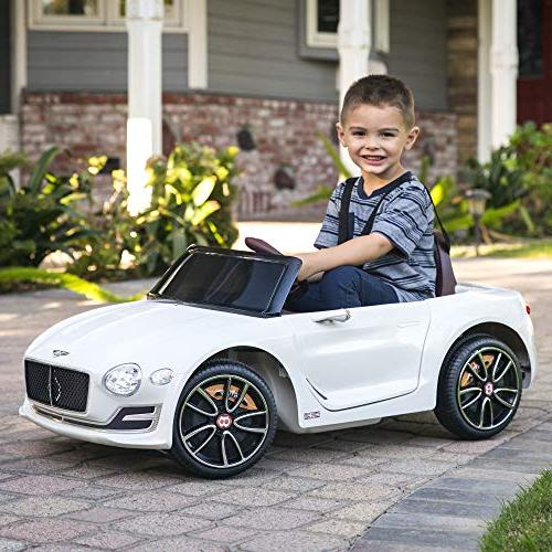 Best Choice Products Kids Bentley 12 Car Remote Control, 2 - White