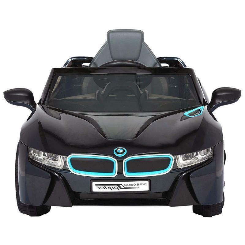 Black 6V on Cars Battery Power Ages 3