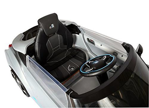 Rollplay Volt BMW i8 On Battery-Powered Car - Silver