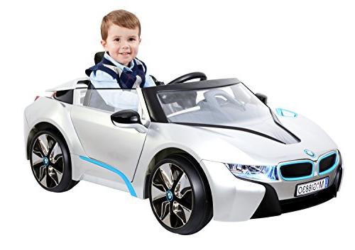 Rollplay 6 BMW i8 Battery-Powered Kid's Car - Silver