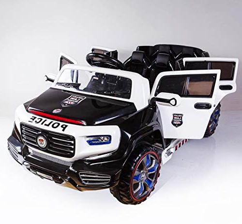Ride Power Wheels 12 Battery Kids Led Headlights, Mp3 Music, Horn, Wheels, Openable 2 with Stop New 2019