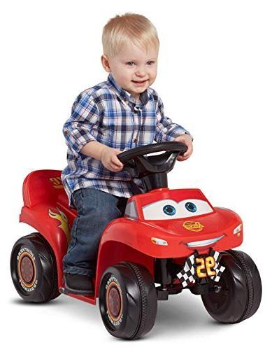 Kid Trax 6v Cars 3 Lightning Mcqueen Quad