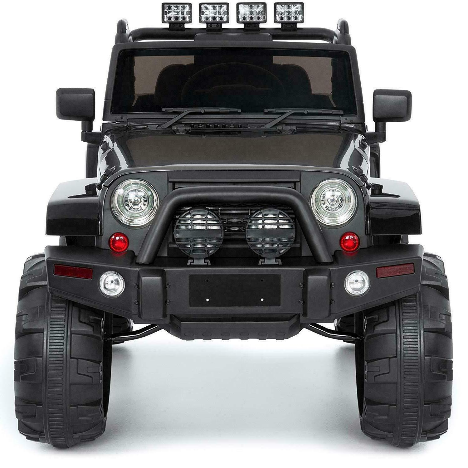 Cars for Ride On Truck Jeep Power Boys Black