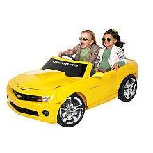 Chevrolet 12V Camaro - Yellow