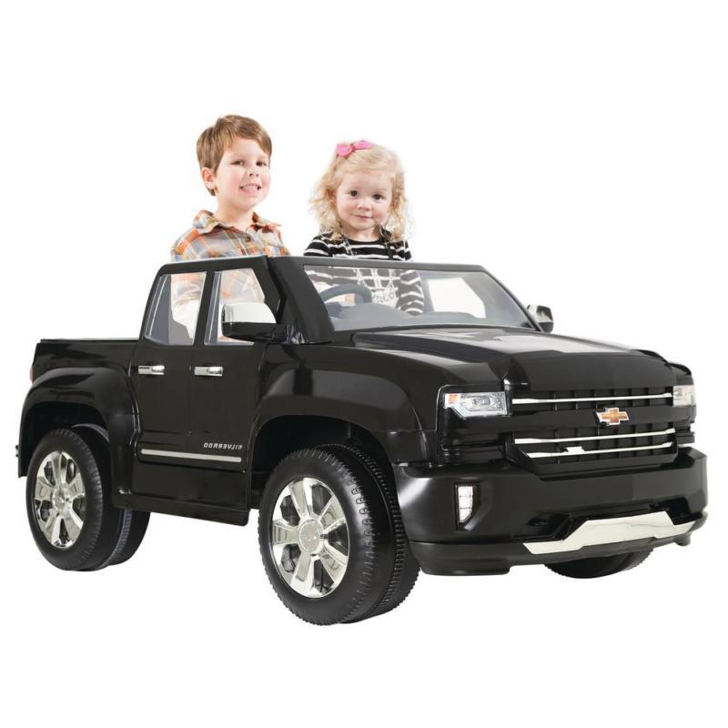 chevy silverado ride on vehicle car kids