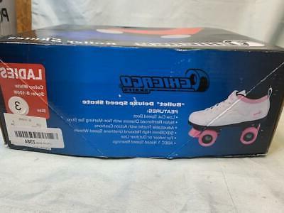 Chicago Skates Bullet Deluxe White Size