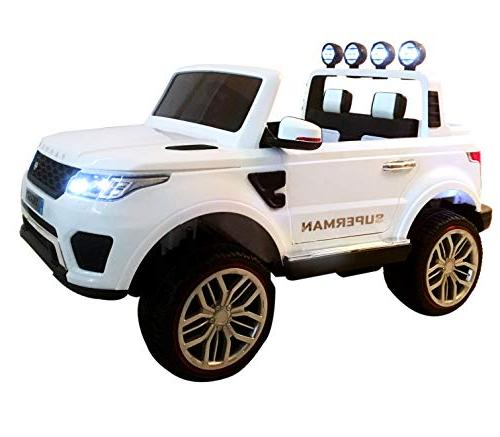 Dporticus Kids 3-Speed Variable Ride 3-Speed Variable Driving Ride On Car Remote Control as Gifts, 12V