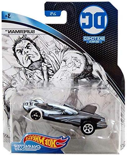 dc universe steel toy vehicle