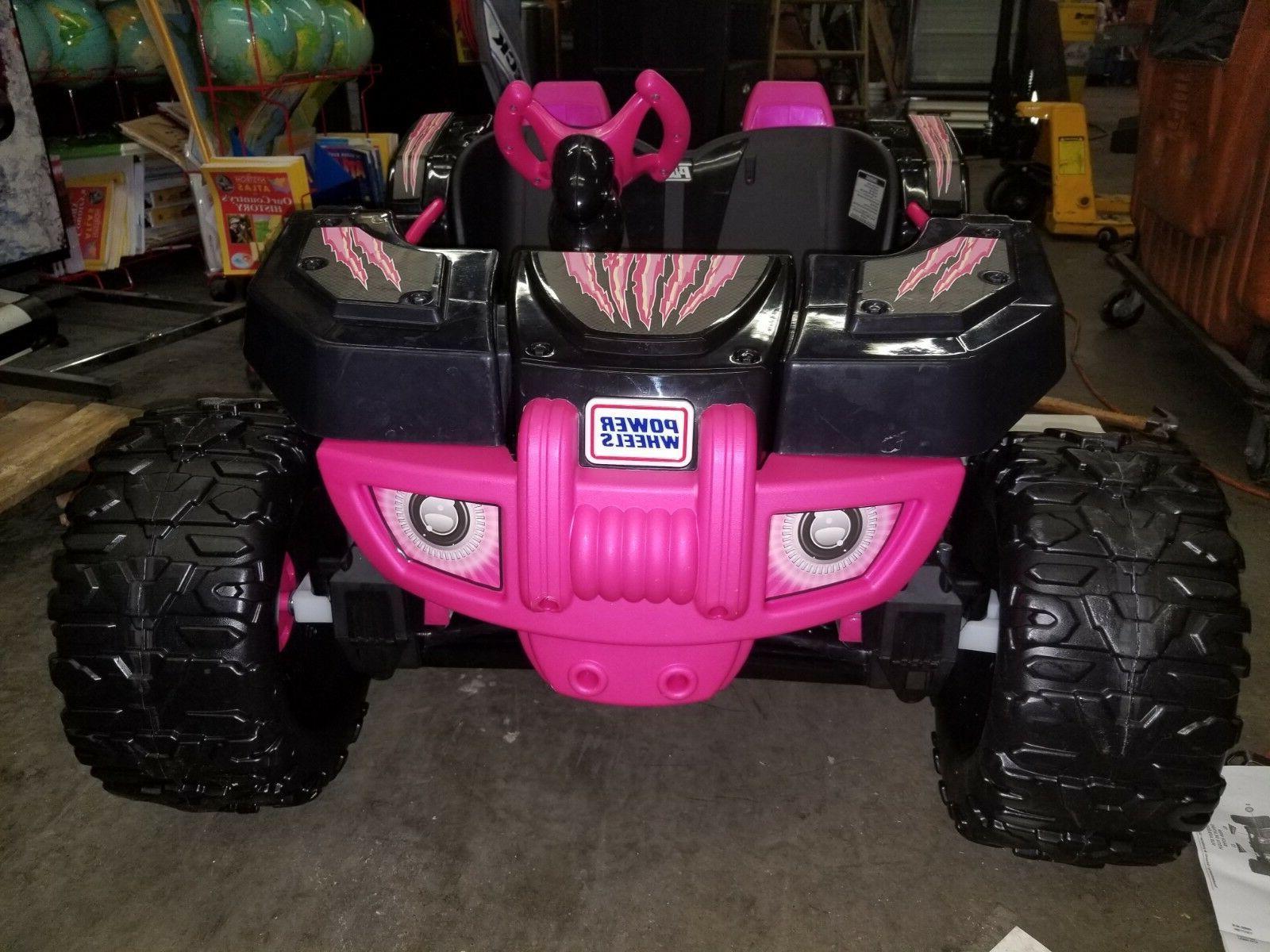 desert racer pink electric car for kids