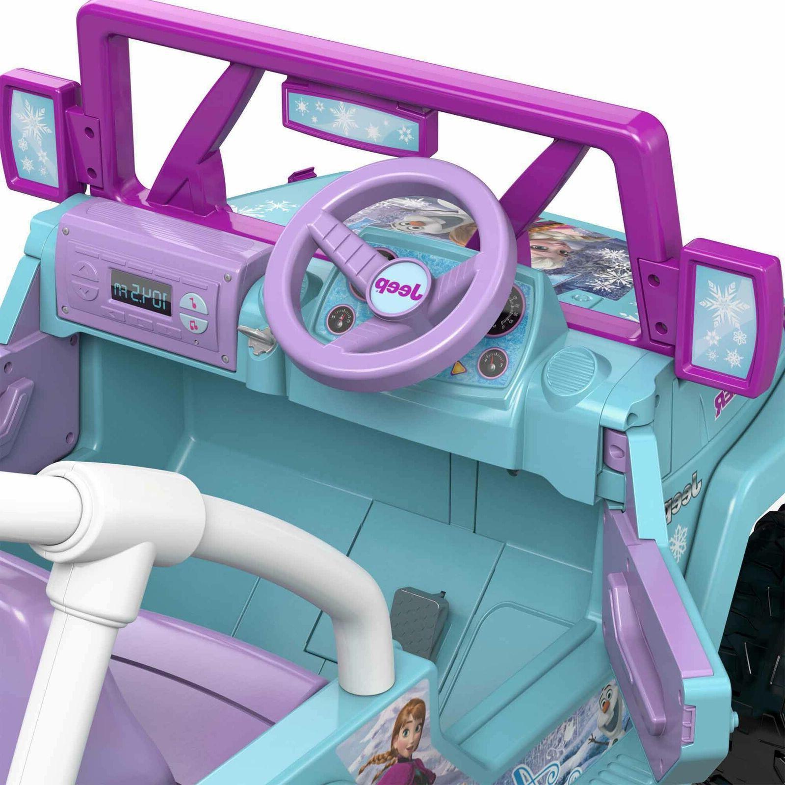 Power Frozen 12-V Ride