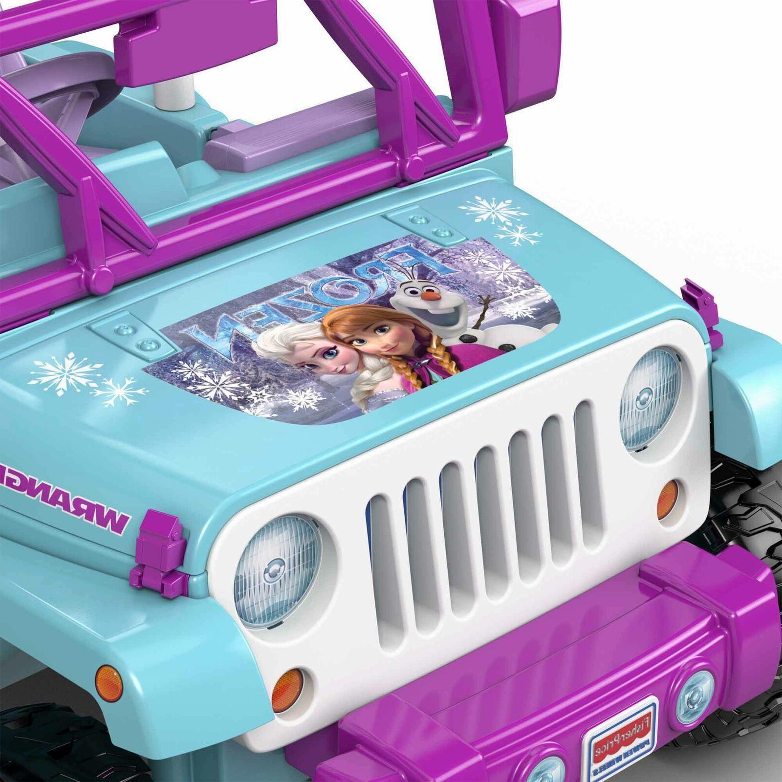 Power Frozen 2 Jeep 12-V Battery