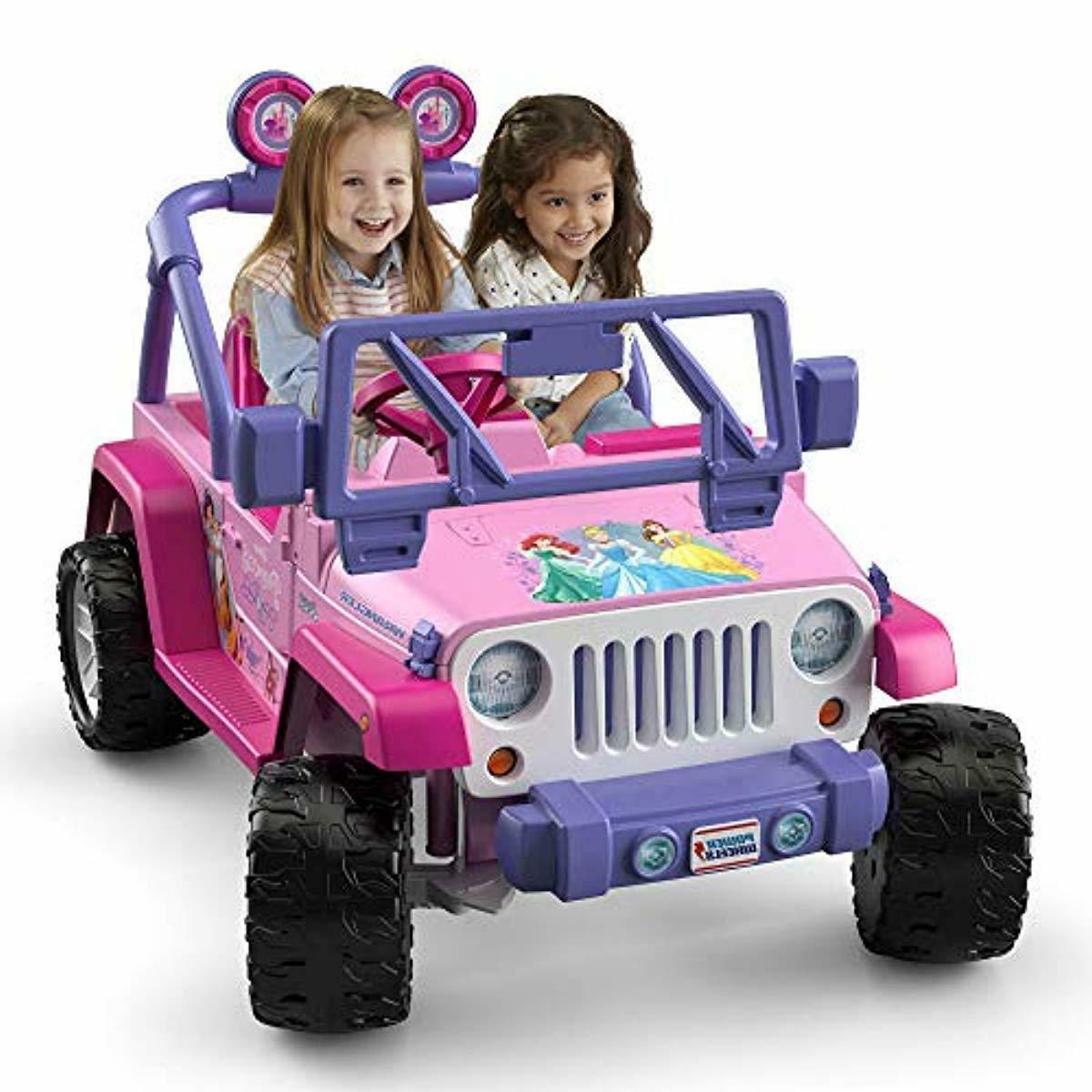 Power Kids Jeep Wrangler