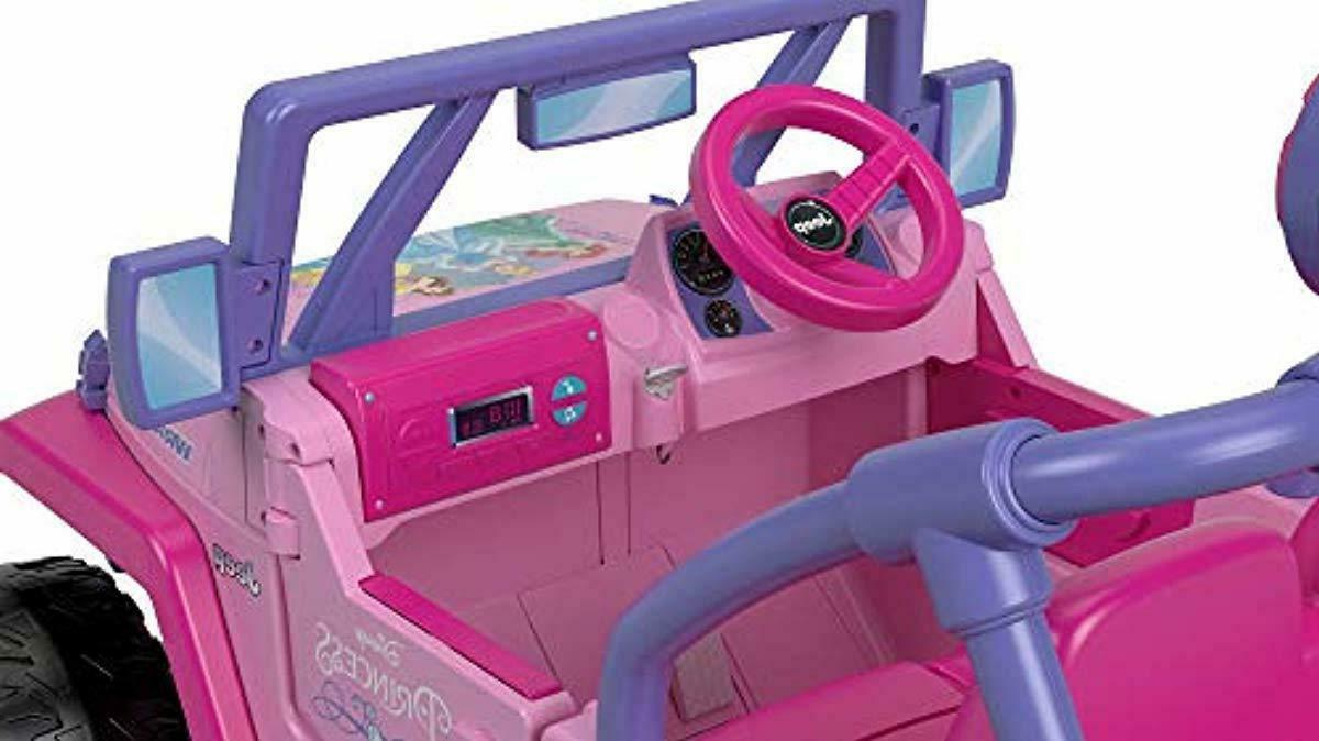 Power Disney Kids Jeep Wrangler