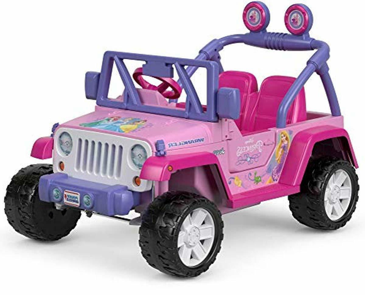 disney princess kids jeep wrangler