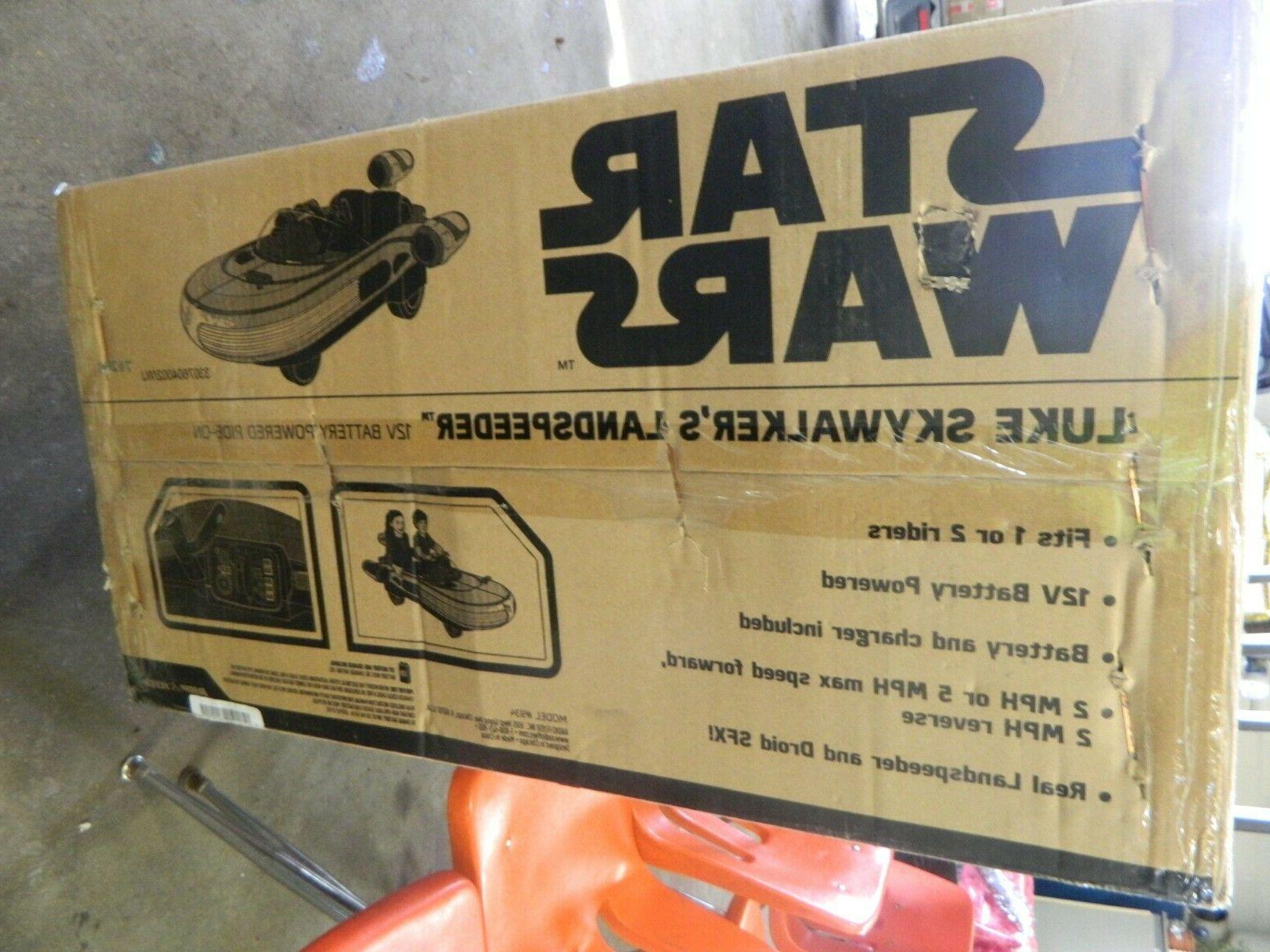 Disney Radio Wars NIB Op Wheels